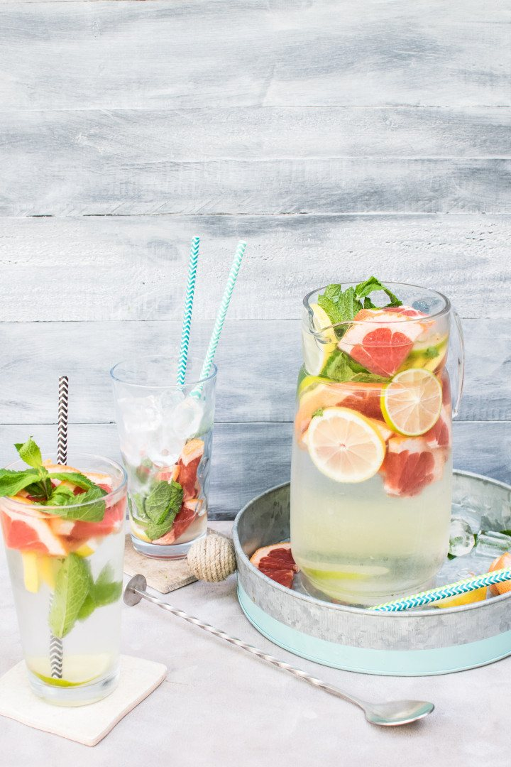 Detox Water For Flat Belly And Clear Skin